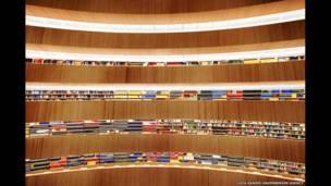 Perpustakaan Institut Hukum, Zurich, Swiss 2013