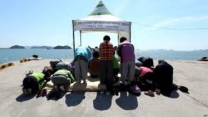 Doa di pelabuhan Jindo