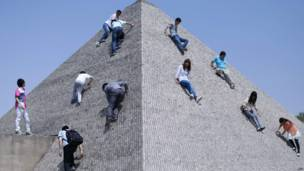 चीन,  बीजिंग वर्ल्ड पार्क, पिरामिड