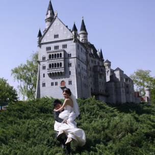 चीन, बीजिंग वर्ल्ड पार्क, जर्मन किला