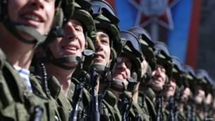 Ejército ruso.