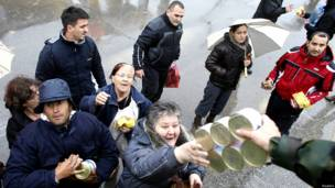 बोस्निया और सर्बिया में बाढ़
