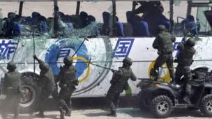 Unit komando khusus Cina
