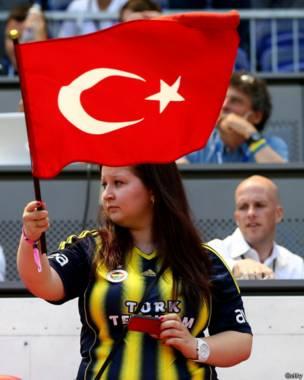 तुर्की, प्रशंसक, झंडा