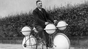 Bicicleta anfibia