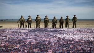Нормандія, висадка союзницького десанта, 70 річниця