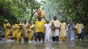 त्रिनिदाद में गंगा धारा पर्व