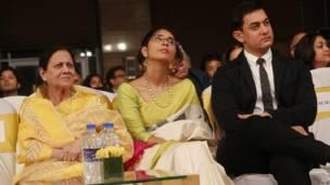 आमिर ख़ान, किरण राव, आमिर की मां