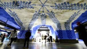 Estación T-Centralen, Estocolmo