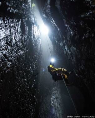 Entrada en la caverna