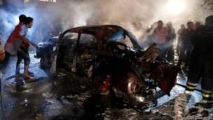 बेरूत में बम धमाका