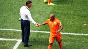 नीदरलैंड्स और मैक्सिको का मुक़ाबला
