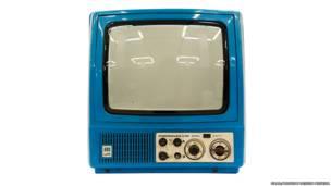 Televisor Elektronika-TS-401-M. Imagen: cortesía de GRAD y Museo de Diseño de Moscú