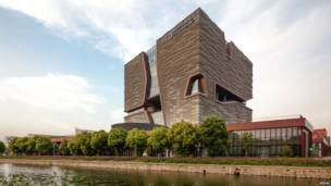 El Xi'an Jiaotong-Liverpool University Administration Building, Suzhou (China).