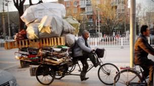 Bicicleta de mudanzas