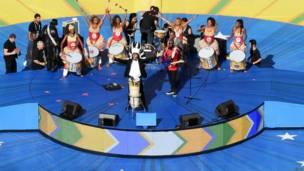 फ़ीफ़ा विश्व कप का समापन समारोह