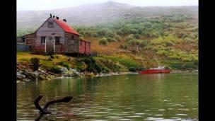 Isla Remolinos, ahora abandonada. Andy Pollard.