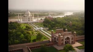 Taj Mahal  (Amos Chapple/REX FEATURES)