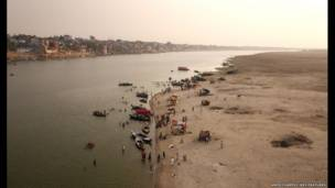 Ganges. Amos Chapple/REX FEATURES