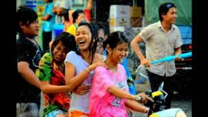 Festividades de Año Nuevo en Tailandia