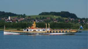 колесный пароход