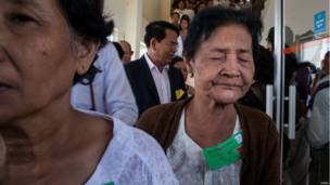 Perempuan korban Khmer Merah