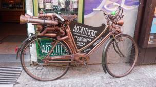 Bicicleta de Bronce
