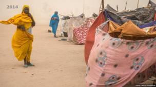 हामादिया कैंप, दारफ़ुर, सूडान- 2014