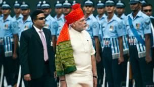 भारत, स्वाधीनता दिवस, 68वीं सालगिरह, नरेंद्र मोदी