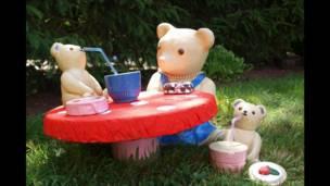 Ositos con su picnic