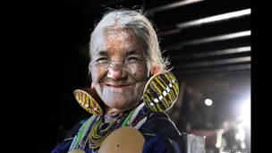 """""""A idosa de Chin"""" (Kyaw Kyaw Winn)"""