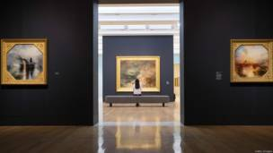 लंदन के टेट ब्रिटेन संग्रहालय में एक प्रदर्शनी