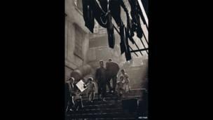 Ho Fan, Escena callejera, 1957. Cortesía de Espacio Artístico AO Vertical.