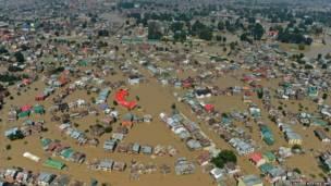श्रीनगर के बाढ़