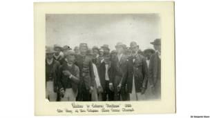 Visitantes da Estação, Paracuru, Ceará, Sir Benjamin Stone/Biblioteca de Birmingham