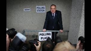 Первый министр Шотландии Алекс Салмонд