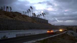 मैक्सिको, समुद्री तूफ़ान, ओडील
