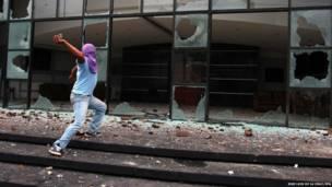 मैक्सिको में हिंसक प्रदर्शन