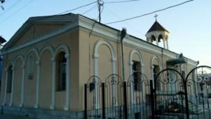 الكنيسة الأرمينية الغربية في سمرقند