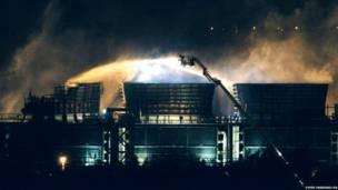 ऑक्सफोर्डशायर में आग