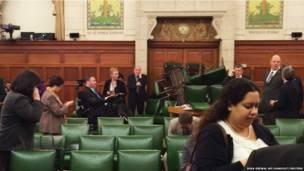 कनाडा की संसद में कंजरवेटिव पार्टी का कमरा