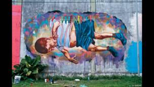 ایل میرین کی طرف سے ایک آرٹ ورک، بیونس آئرس ارجنٹائن