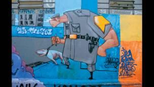 گرافس کا آرٹ ورک، برازیل