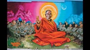 میر ون کی 'دلائی لاما،' لاس اینجلس امریکہ