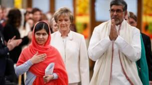 मलाला और कैलाश