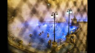 The thermal spas in Budapest