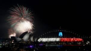 fataki zaling'arisha jumba la Opera mjini Sidney