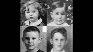 Fotos de la infancia de Fidel Castro. Foto: Getty Images