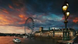 倫敦眼和市政廳