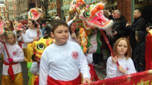 倫敦慶祝羊年春節活動